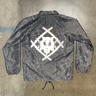 Reflective Hollowsquad Logo Coaches Jacket [Storm - LMTD. to 100 pieces]