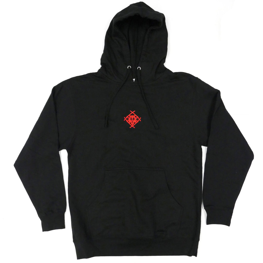 Embroidered Hollowsquad Hoodie [Red - LMTD. RESTOCK]