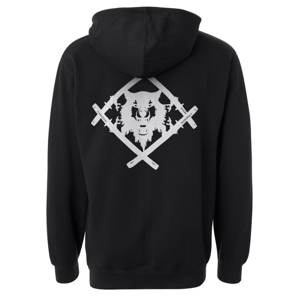 King Alpha Hoodie - Embroidered Heavyweight Edition