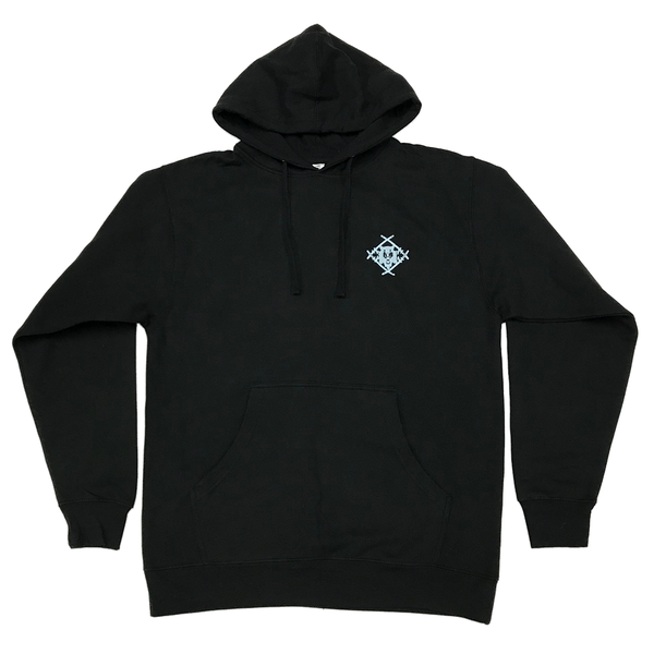 Embroidered Hollowsquad Hoodie [Ice Blue - LMTD. to 100 pieces]