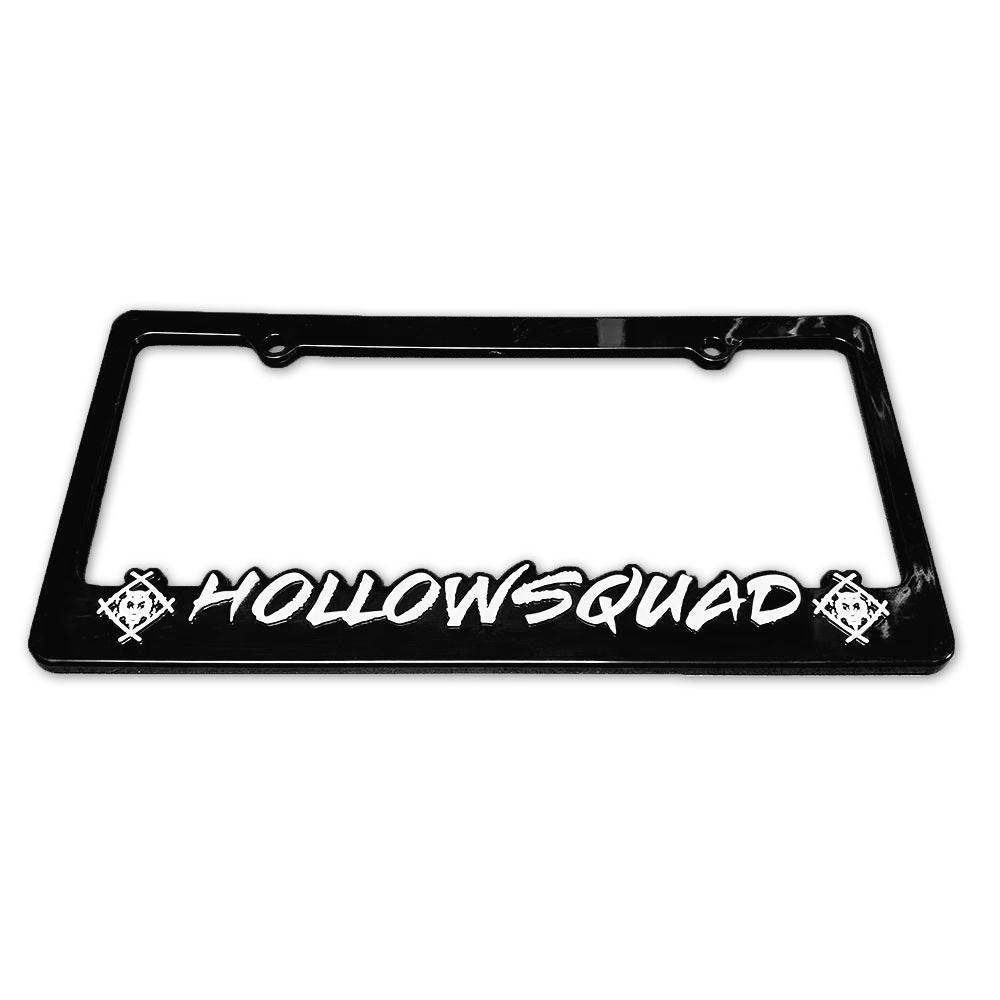 Hollowsquad License Plate Frame