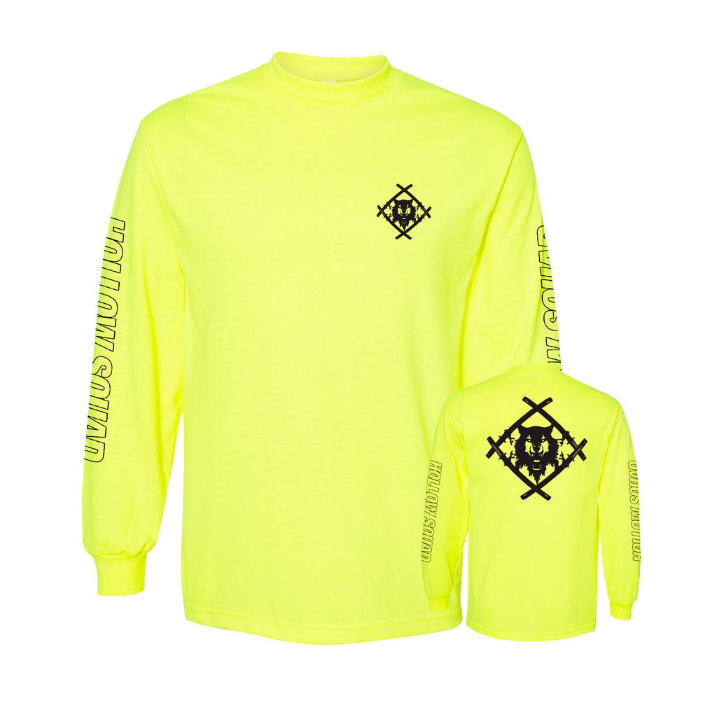 Official Hollowsquad Heavyweight Long Sleeve Tee (Neon)