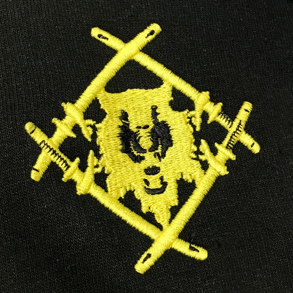 Embroidered Hollowsquad Hoodie [Yellow - LMTD. RESTOCK]