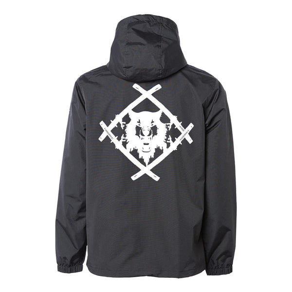 Reflective Hollowsquad Heavyweight Anorak Jacket