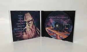 Autographed Ambient Highways CD showing initialed disc