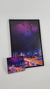Keith Richie - Ambient Highways - 11x17 Poster