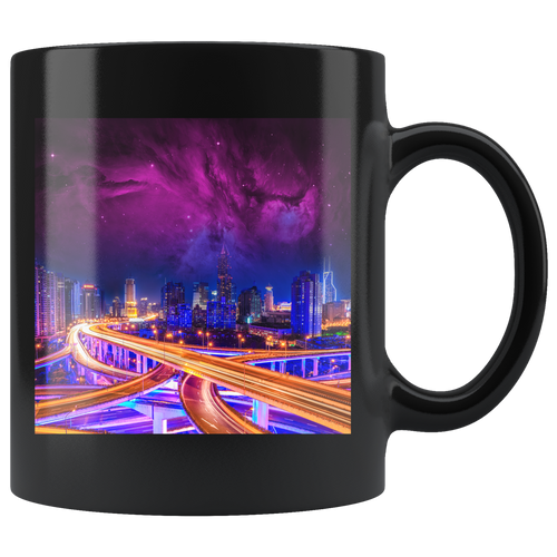Keith Richie - Ambient Highways - 11oz Black Mug
