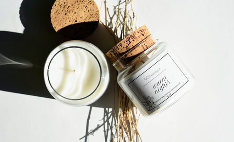 Warm Nights Apothecary Candle