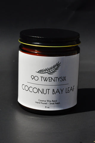 Coconut & Bay Leaf Candle