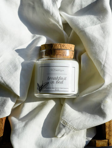 Breakfast In Bed Apothecary Candle