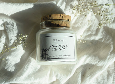 Cashmere & Vanilla Apothecary Candle
