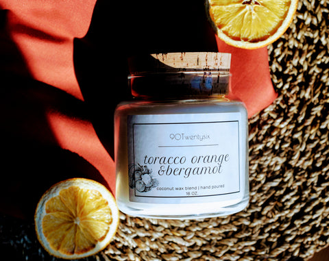 Tarocco Orange & Bergamot Apothecary Candle