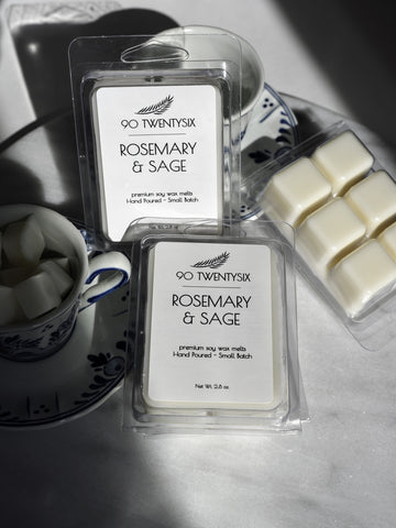 Rosemary & Sage Wax Melts