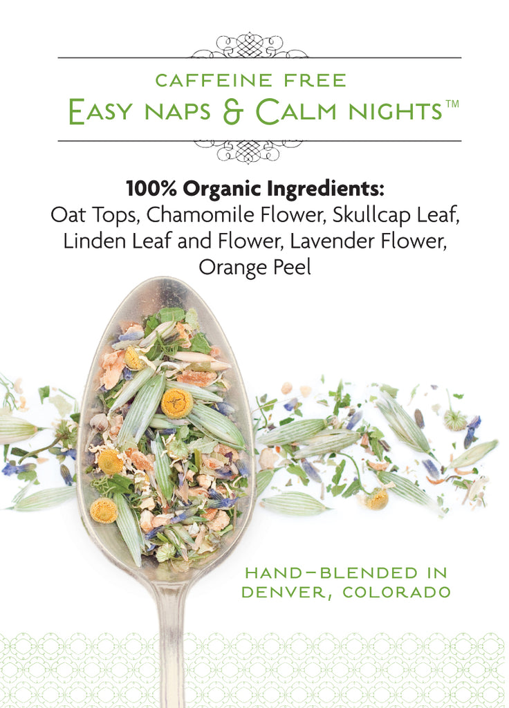 Easy Naps & Calm Nights Organic Tea