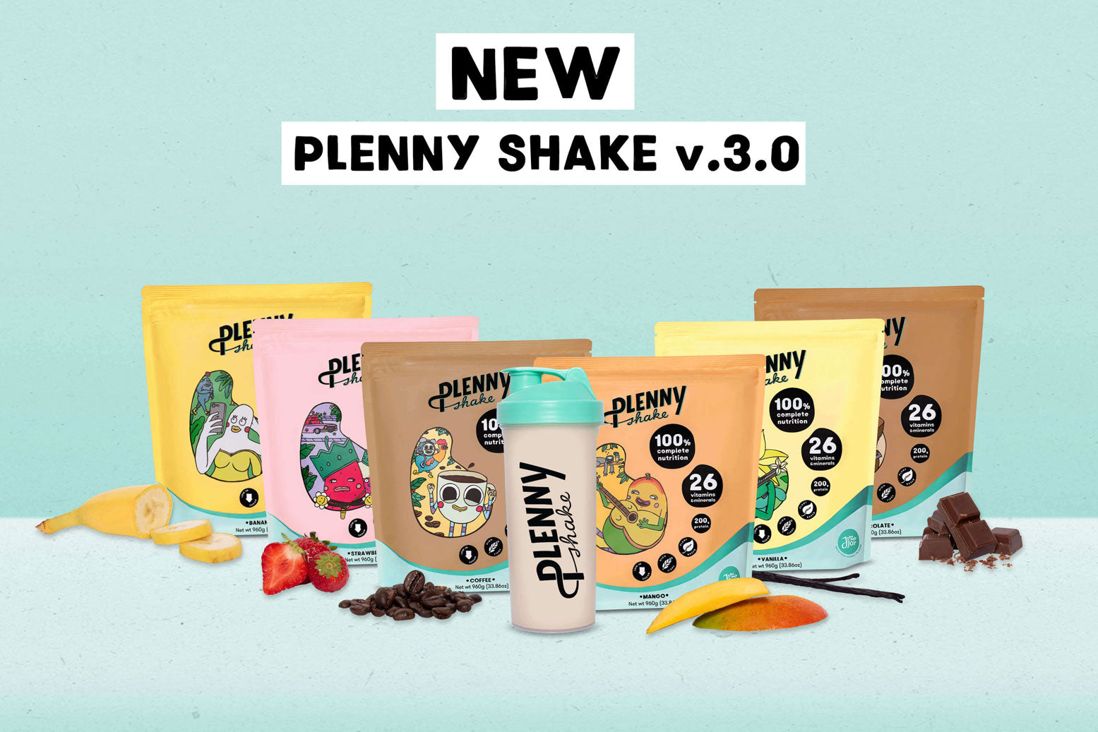 Jimmy Joy new Plenny Shake 3.0
