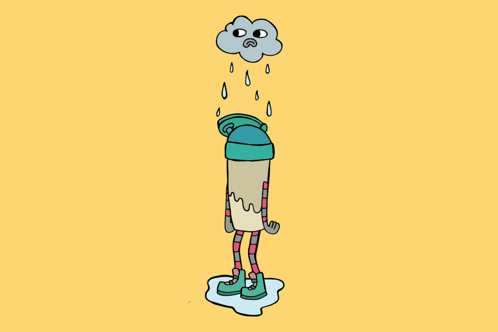 Sad Rain Cloud Plenny Shake bottle