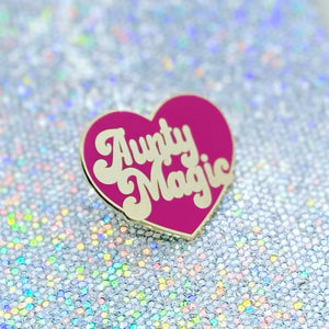 AUNTY MAGIC Heart Pin