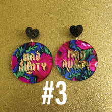 MAD AUNTY Statement Earrings