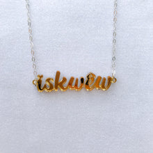 iskwēw necklace