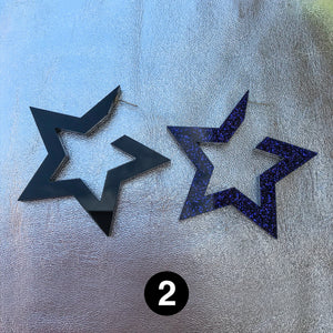 #SUMMERSTARS - star hoops