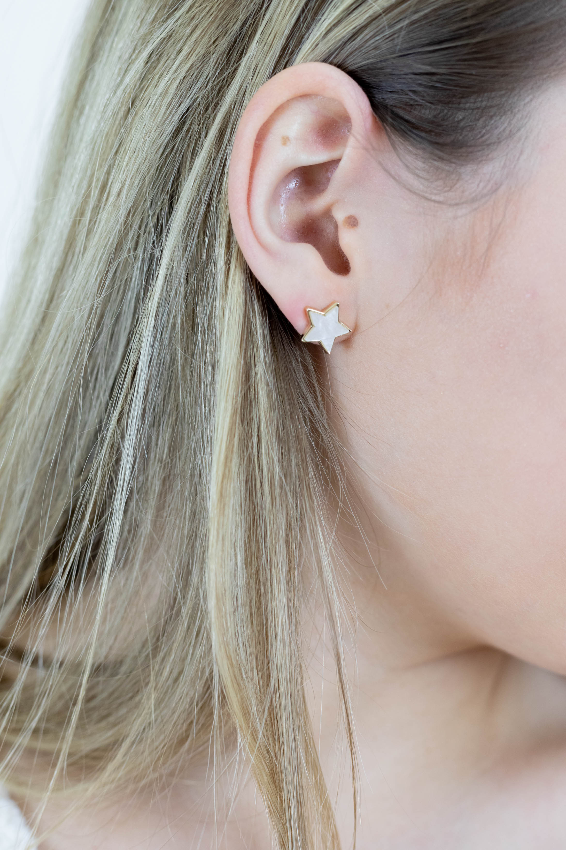 Star Gazing Stud Earrings