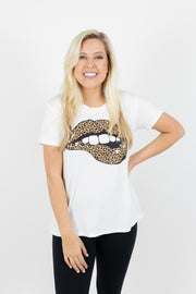 Kiss on the Lips Graphic Tee