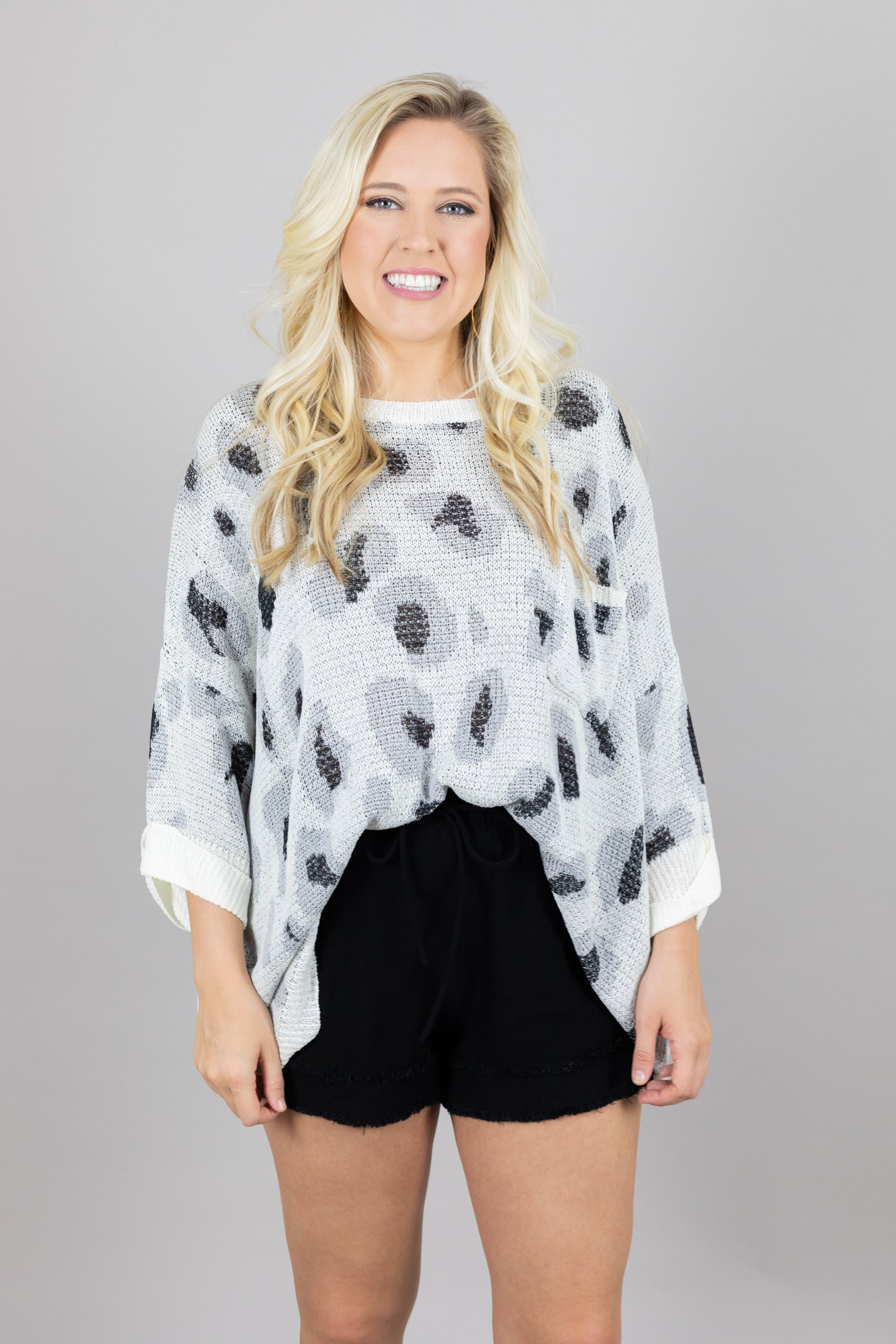 Living Boldly Lightweight Sweater