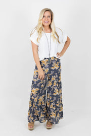 Flowy In Florals Pants