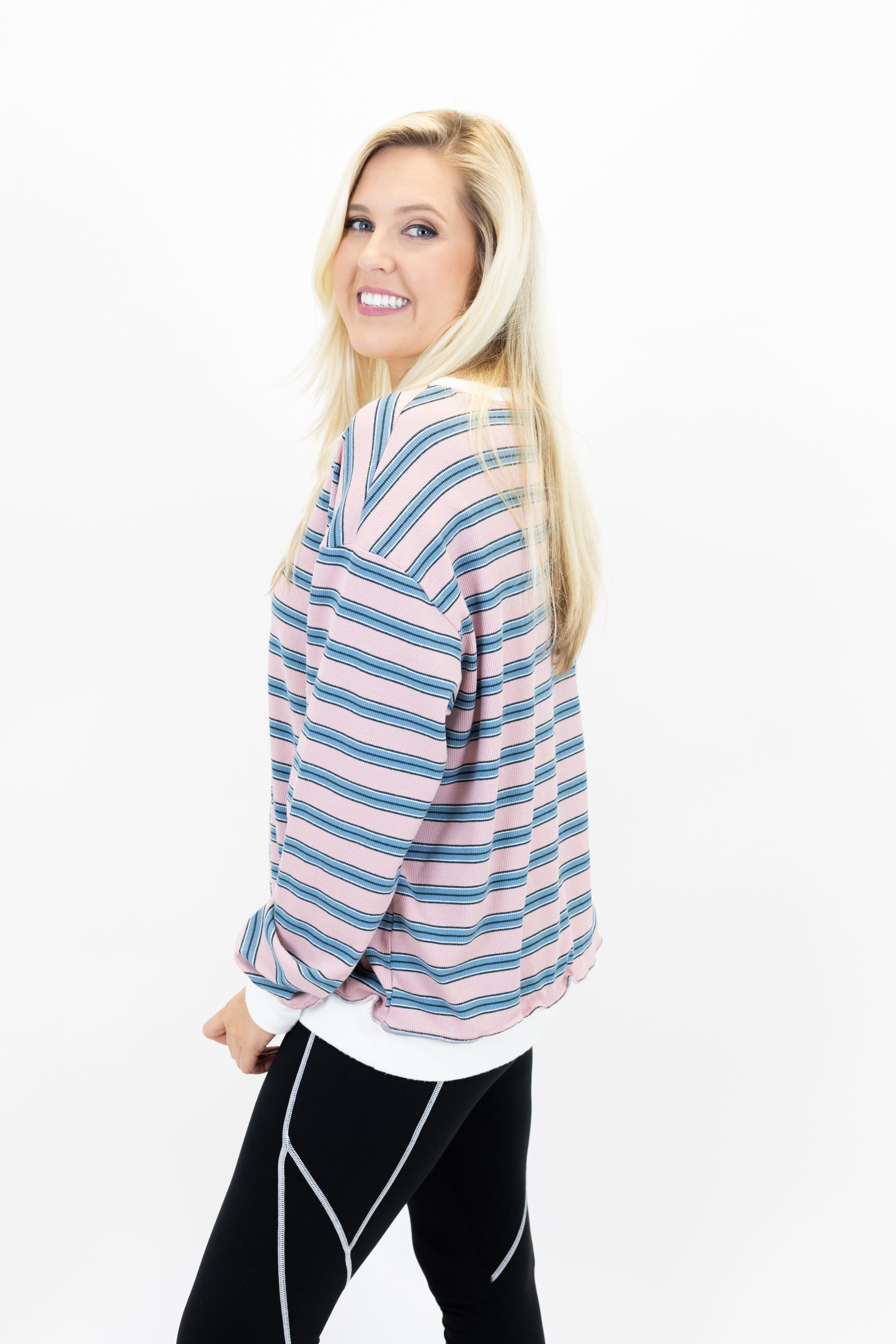 Stripe Vibes Top *Final Sale*