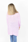 3/4 Length Sleeves Lightweight Knit One Size Fits All Sweater