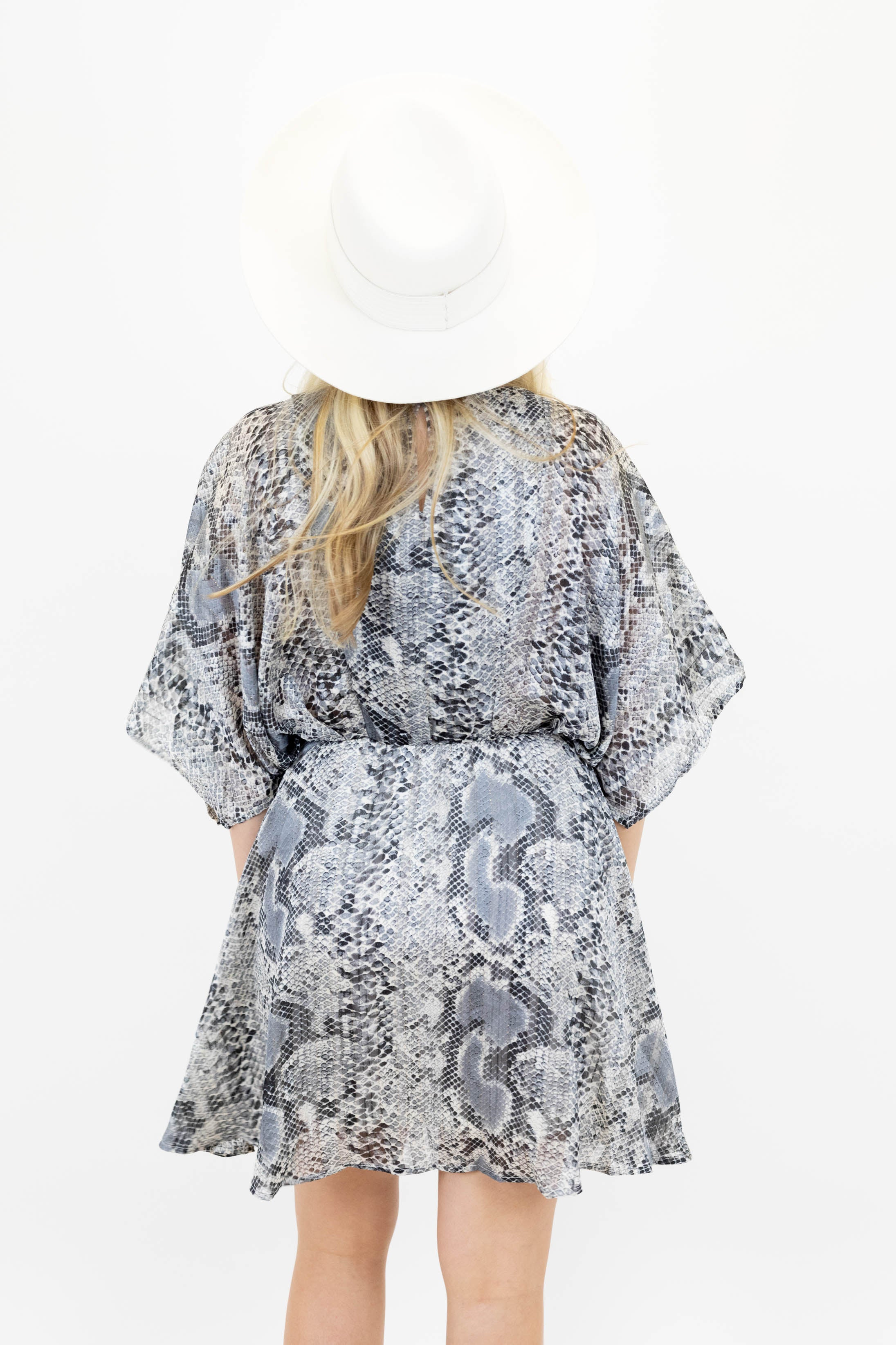 Aim To Please Snake Print Dress *Final Sale*