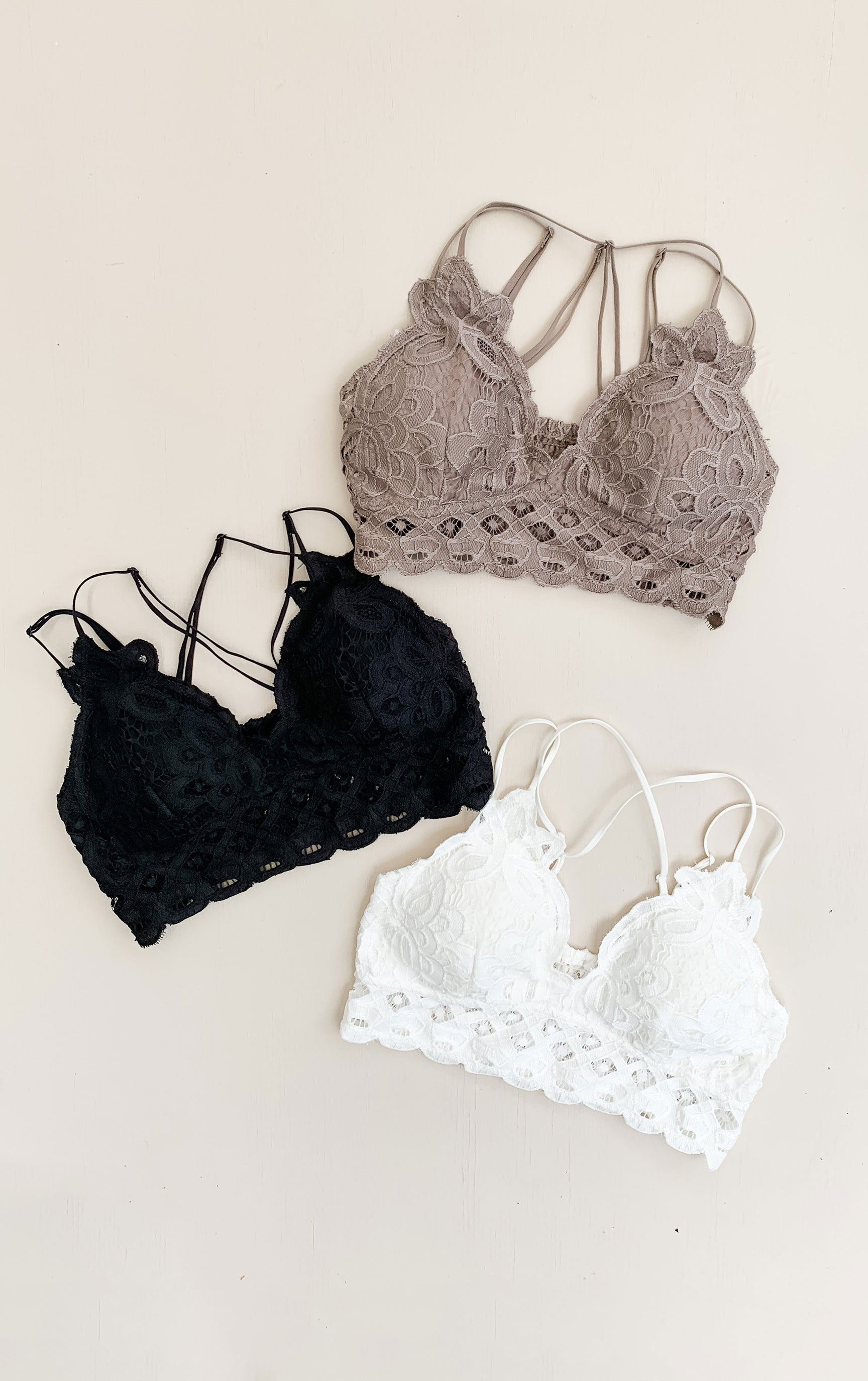 Covered in Lace Bralette