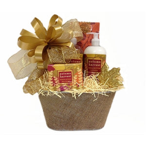 This autumnal gift basket is a must to start the fall season.