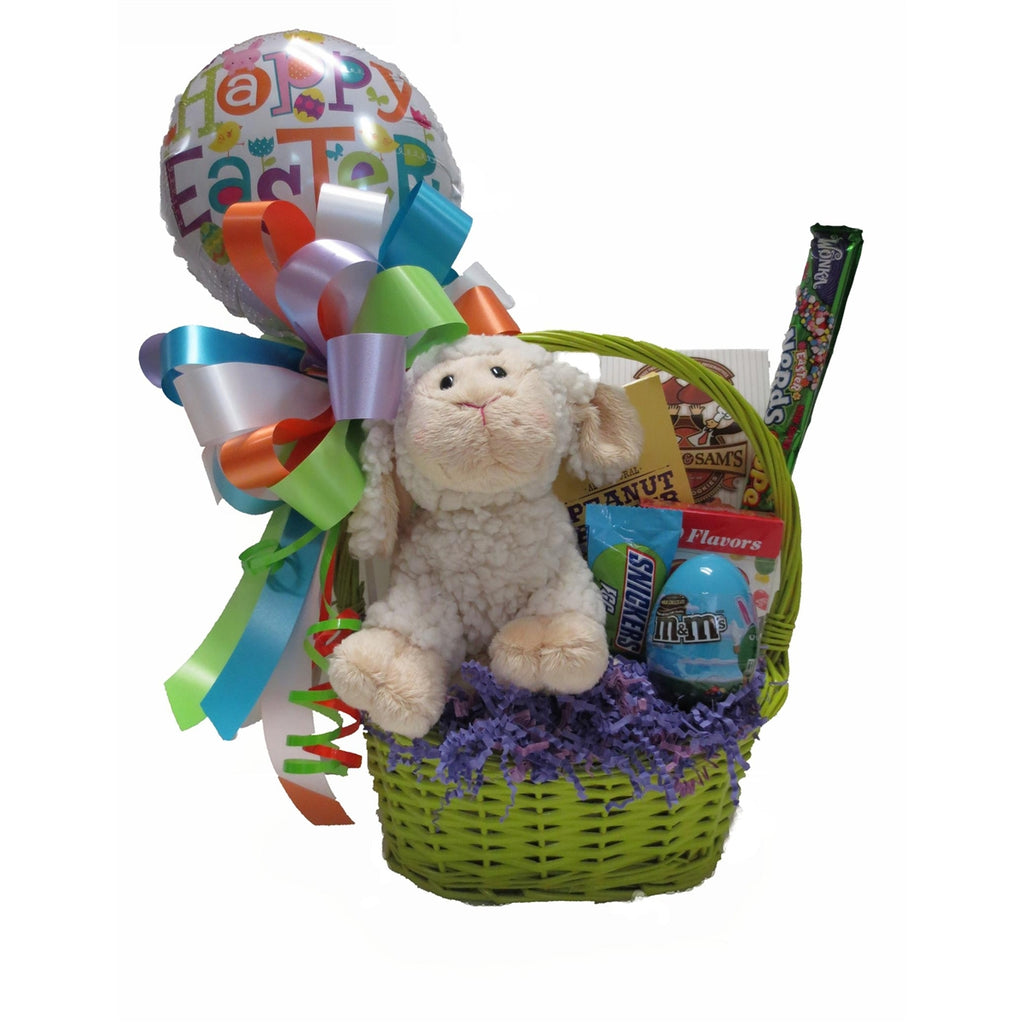 Easter gift basket for the perfect springtime present. Made in Raleigh, North Carolina.