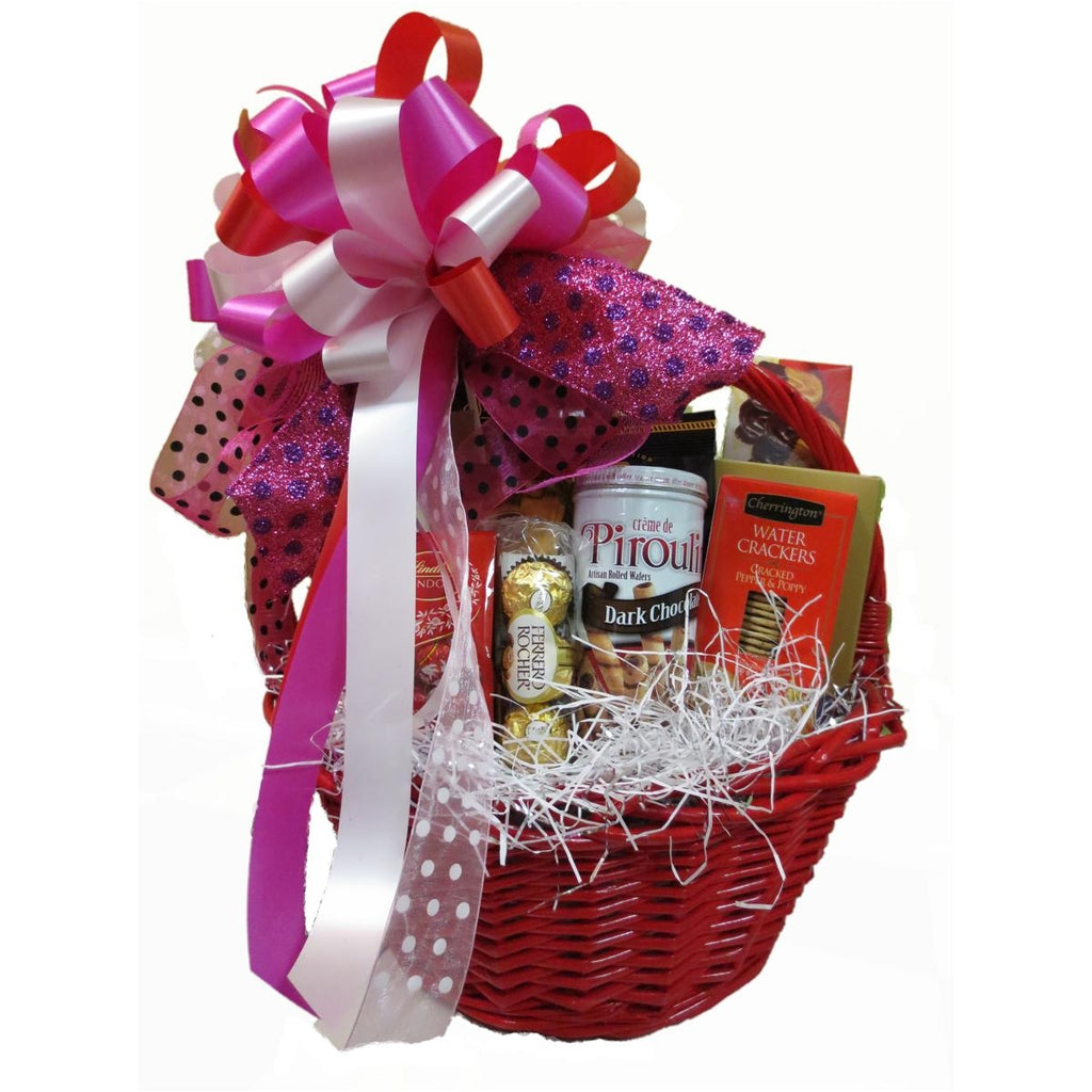 Show your special someone you love them with this gourmet gift basket.