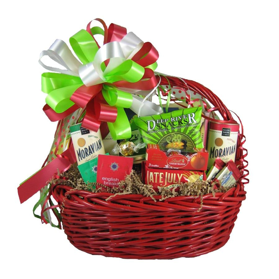 Give this gift basket for the perfect Christmas present.