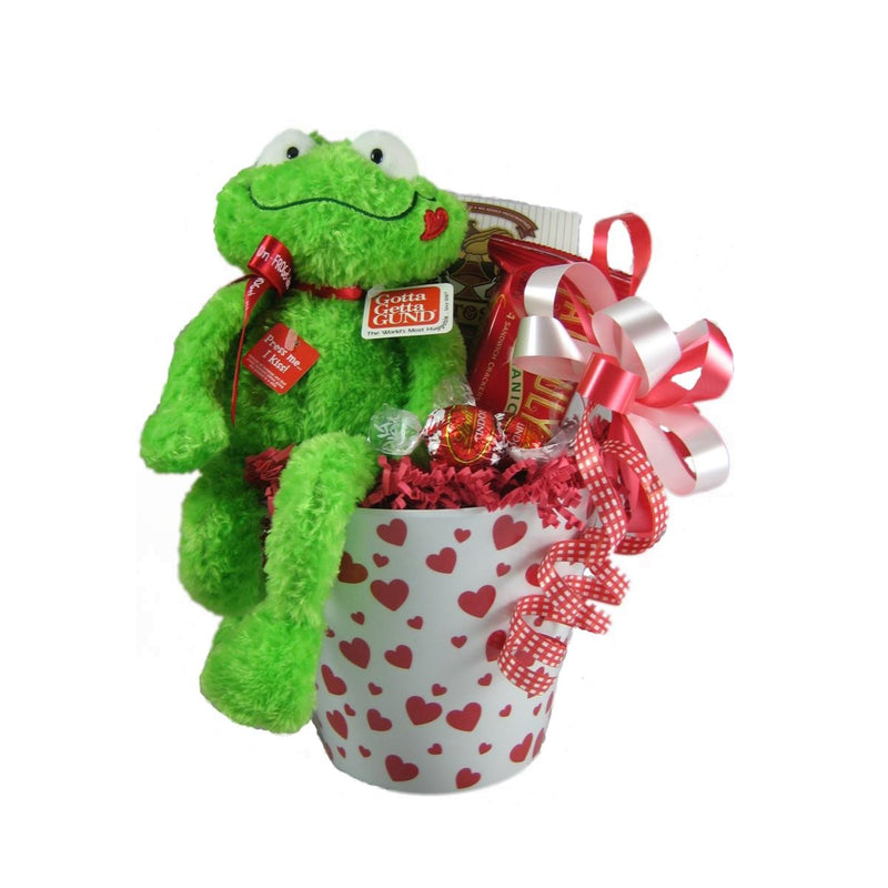 Send a sweet Valentine's day basket to your loved ones!