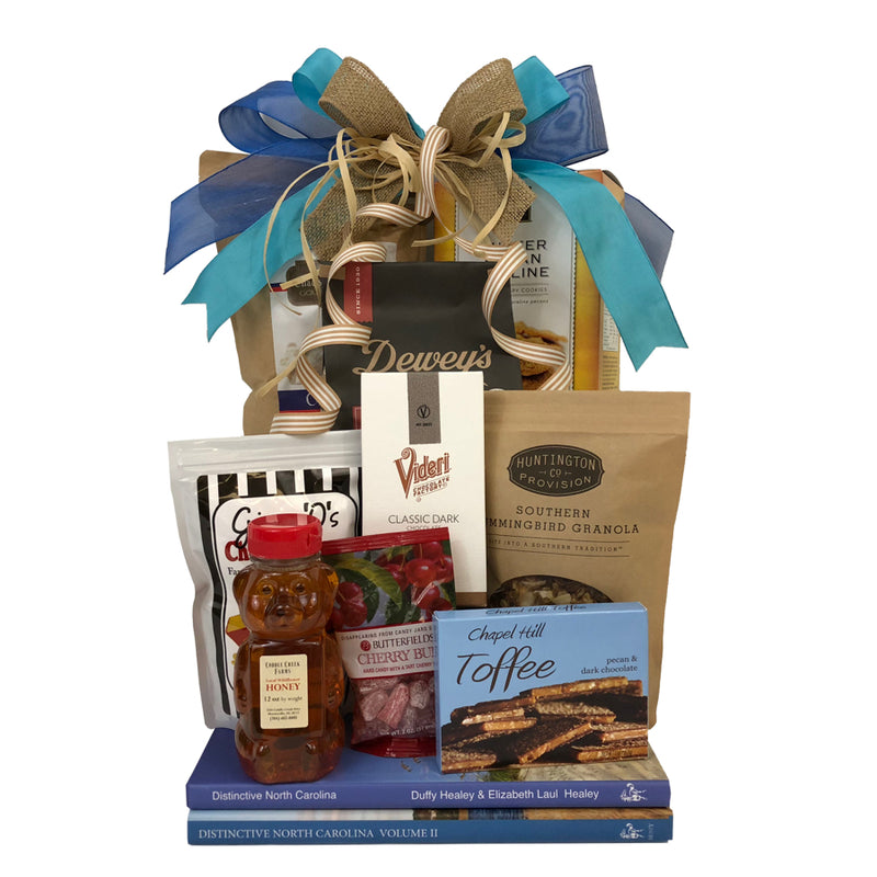 Gingham & Posh Distinctive North Carolina Gift Basket