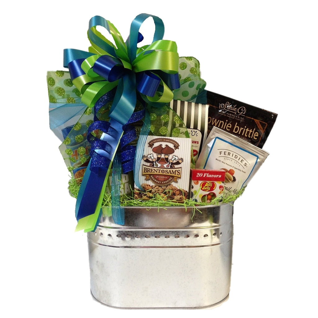 The Tasty Gourmet basket is one of our most popular gifts!