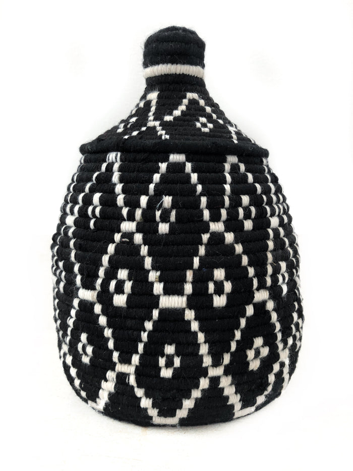 'Midnight' Berber Basket