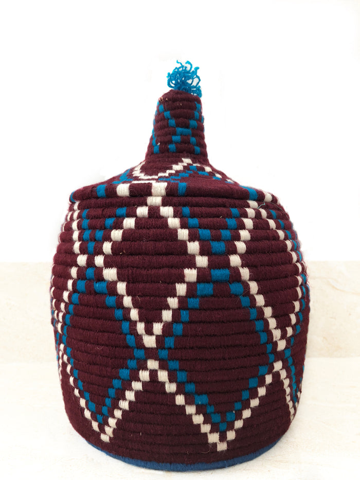'Crimson' Berber Basket