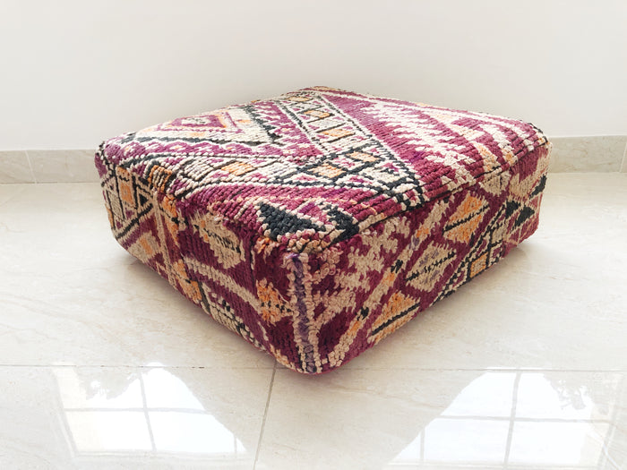 Vintage Moroccan Boujaad Pouf – 03
