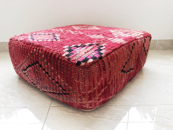 Vintage Moroccan Boujaad Pouf – 02