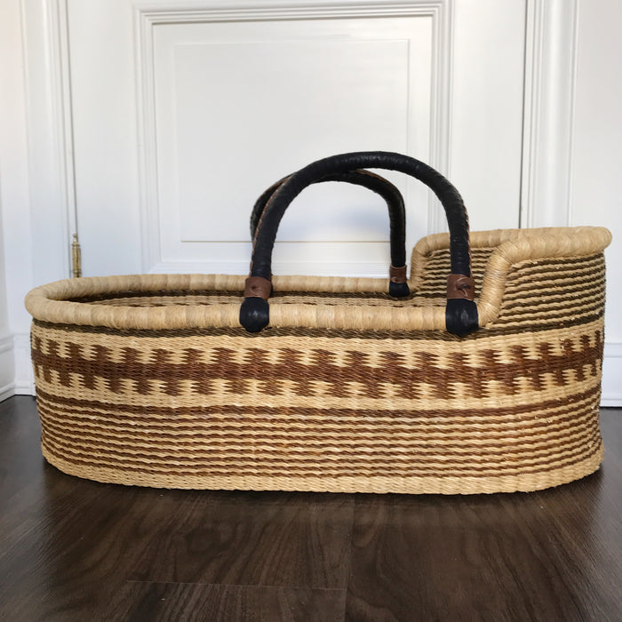 'CHESTNUT' Moses Basket