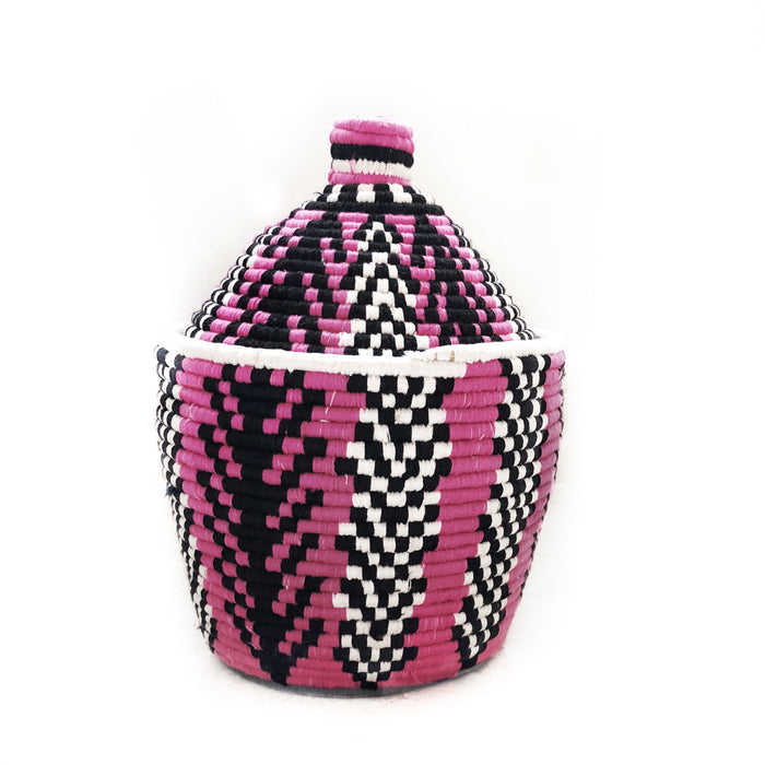 'Cotton Candy' Berber Basket