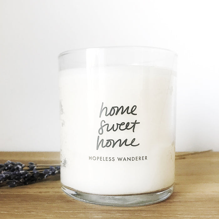 'Home Sweet Home', Toasted Marshmallow Candle
