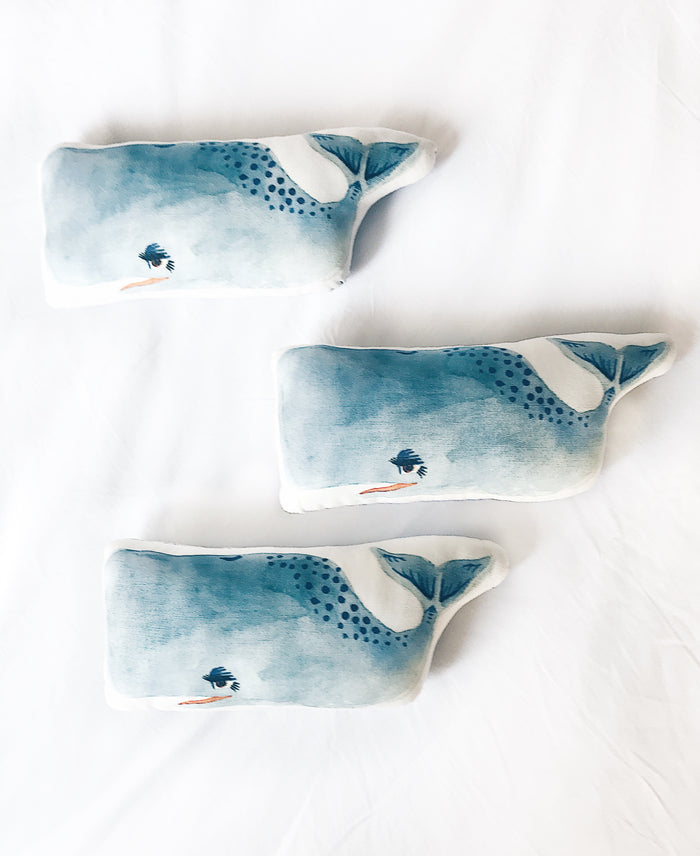 Whale Plush Pillow