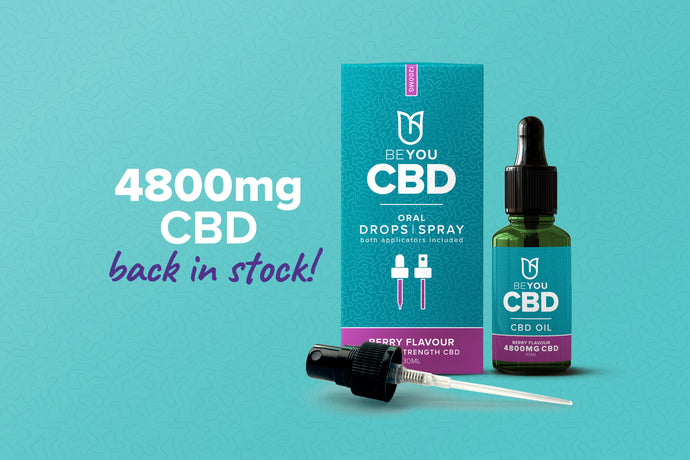 Our 4800mg CBD is back in stock!