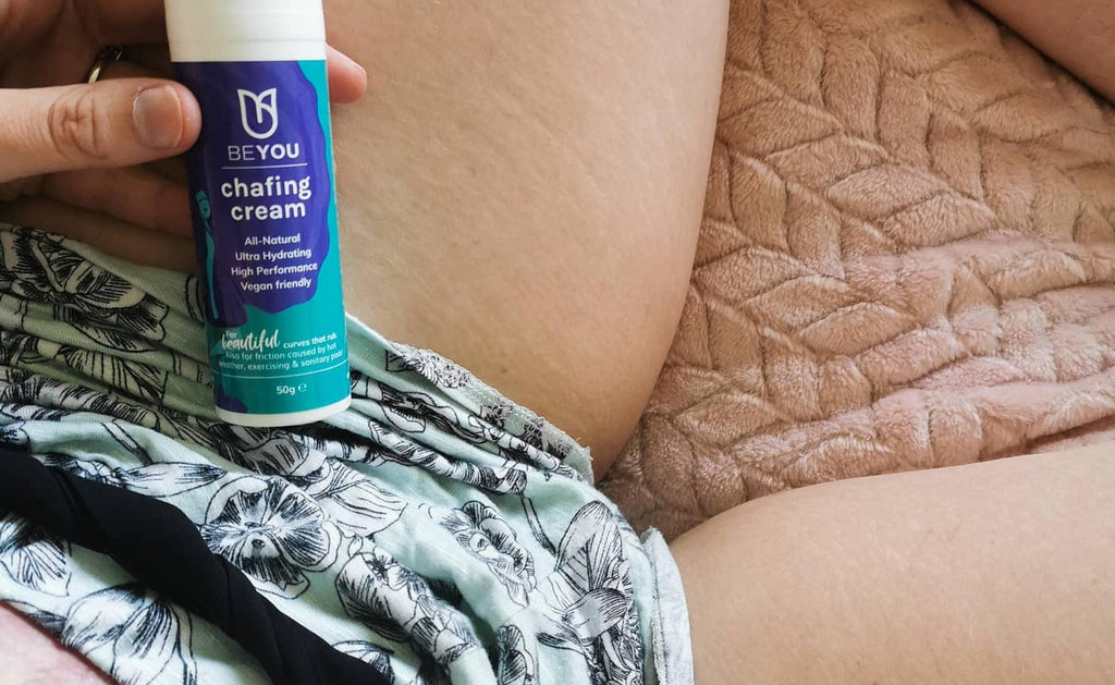 'It's a game changer!': BeYou Chafing Cream