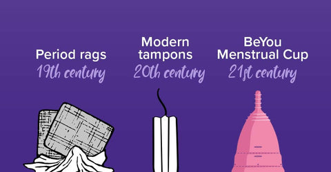 The first tampon   Evolution of a tampon